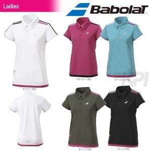 「2017新製品」Babolat バボラ 「Women's レディース ショートスリーブシャツ BAB-1748W」テニスウェア「2017SS」『即日出荷』|kpi