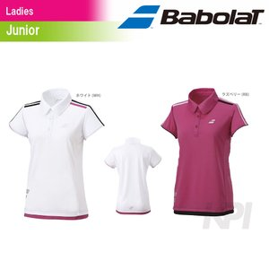 「2017新製品」Babolat バボラ 「Women's レディース ジュニアショートスリーブシャツ BAB-1748WJ」テニスウェア「2017SS」『即日出荷』 kpi