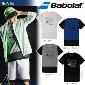 「均一セール」『即日出荷』Babolat バボラ 「Unisex ショートスリーブシャツ BAB-8701」テニスウェア「FW」 [ポスト投函便対応]|kpi