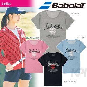 『即日出荷』Babolat バボラ 「Women's レディース ショートスリーブシャツ BAB-8735W」テニスウェア「2017SS」|kpi
