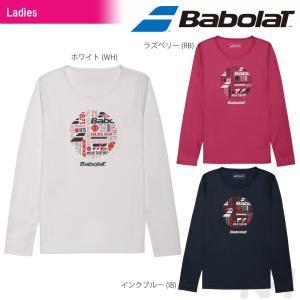 「2017新製品」Babolat バボラ 「Women's レディース ロングスリーブシャツ BAB-8737W」テニスウェア「2017SS」『即日出荷』|kpi