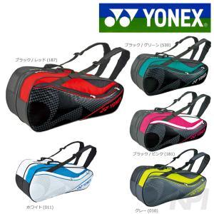 ヨネックス YONEX テニスバッグ ラケットバッグ6 リュック付 テニス6本用 BAG1722R「2017モデル」