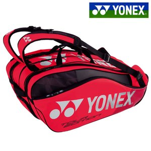 ヨネックス YONEX テニスバッグ・ケース ラケットバッグ9 リュック付 テニス9本用 フレイムレッド BAG1802N-596 2018年新色|kpi
