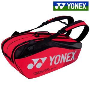 ヨネックス YONEX テニスバッグ・ケース ラケットバッグ6 リュック付 テニス6本用 フレイムレッド BAG1802R-596 2018年新色|kpi