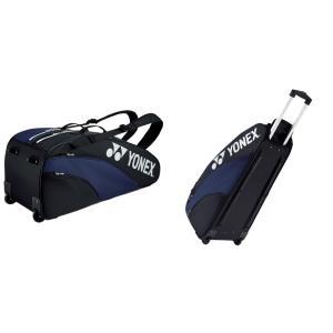 ヨネックス YONEX テニスバッグ・ケース  ラケットバッグ キャスター付  テニス6本用  BAG1932C|kpi