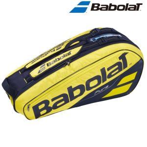 バボラ Babolat テニスバッグ・ケース  PURE AERO RACKET HOLDER X6 ラケットホルダー 6本収納可 ラケットケース  BB751182|kpi