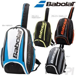 「ランドリーバッグ2枚プレゼント」「2017新製品」BabolaT バボラ 「PURE LINE BACKPACK バックパック ラケット収納可  BB753047」テニスバッグ