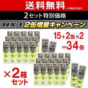 「2箱セット」「増量キャンペーン」BRIDGESTONE ブリヂストン NX1 4球入 1箱15+2...