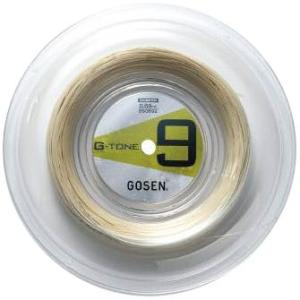 GOSEN ゴーセン 「G-TONE 9 ジートーンナイン 220mロールBS0693」バドミントンストリング|kpi