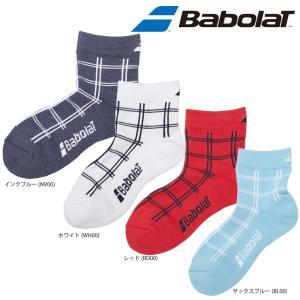 バボラ Babolat テニスウェアユニセックス SHORTSOCKS ショートソックスBTALJB02「SS」[ポスト投函便対応] 『即日出荷』|kpi
