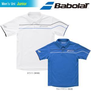 バボラ Babolat テニスウェア ジュニア SHORT SLEEVE SHIRT ショートスリーブシャツ BTJLJA00 チューブプレゼント対象」[ポスト投函便対応] 『即日出荷』 kpi