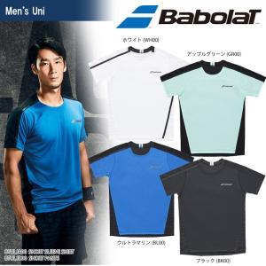 バボラ Babolat テニスウェア ユニセックス SHORT SLEEVE SHIRT ショートスリーブシャツ BTULJA00 2018SS[ポスト投函便対応]|kpi