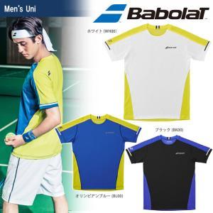 バボラ Babolat テニスウェア ユニセックス ショートスリーブシャツ BTUMJA00 2018FW 『即日出荷』[ポスト投函便対応] kpi