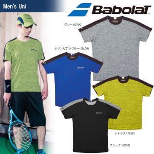 バボラ Babolat テニスウェア ユニセックス ショートスリーブシャツ BTUMJA02 2018FW 『即日出荷』[ポスト投函便対応] kpi