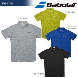 バボラ Babolat テニスウェア ユニセックス ショートスリーブシャツ BTUMJA03 2018FW 『即日出荷』[ポスト投函便対応] kpi