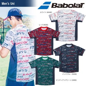 バボラ Babolat テニスウェア ユニセックス ショートスリーブシャツ BTUMJA06 2018FW 『即日出荷』[ポスト投函便対応] kpi