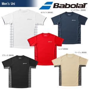 バボラ Babolat テニスウェア ユニセックス ショートスリーブシャツ BTUMJA07 2018FW 『即日出荷』[ポスト投函便対応] kpi