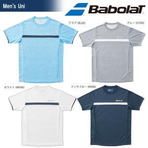 バボラ Babolat テニスウェア ユニセックス ショートスリーブシャツ BTUMJA11 2018FW 『即日出荷』[ポスト投函便対応] kpi