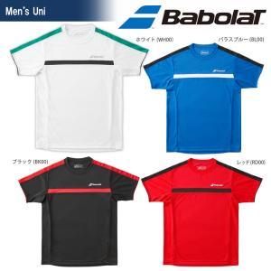 バボラ Babolat テニスウェア ユニセックス ショートスリーブシャツ BTUMJA12 2018FW 『即日出荷』[ポスト投函便対応] kpi