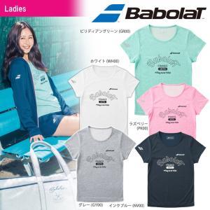 バボラ Babolat テニスウェア レディース ショートスリーブシャツ BTWMJA34 2018FW 『即日出荷』[ポスト投函便対応] kpi