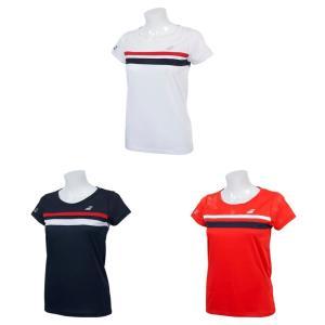 バボラ Babolat テニスウェア レディース ショートスリーブシャツ SHORT SLEEVE SHIRT BTWNJA07 2019SS 『即日出荷』|kpi