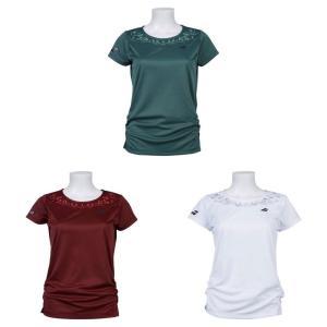 バボラ Babolat テニスウェア レディース 半袖ゲームシャツ SHORT SLEEVE SHIRT BTWOJA03 2019FW [ポスト投函便対応]|kpi