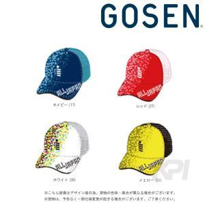 ゴーセン GOSEN テニスキャップ・バイザー 2017年 ALL JAPAN オールジャパンキャップ ポリゴン C17A05 即日出荷 2017新製品|kpi