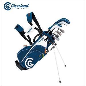 ダンロップ DUNLOP クリーブランド CLEVELAND ゴルフクラブ ジュニア GOLFジュニア SET 6本セット キャディバッグ付「7-10才」 CGJM6S|kpi