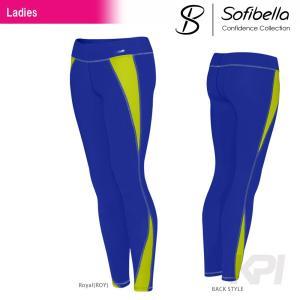 テニスウェア レディース ソフィベラ Sofibella Confidence Collection コンフィデンスコレクション Legging CO1491 SS|kpi