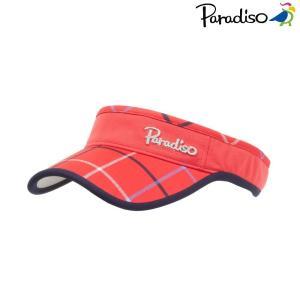 パラディーゾ PARADISO テニスキャップ・バイザー レディース バイザー CPCW85