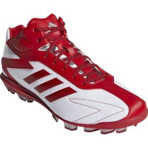 アディダス adidas 野球スパイク  スパイク アディゼロ T3 MID ポイント CQ1268