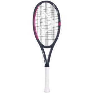 「ボールプレゼント対象」ダンロップ DUNLOP 硬式テニスラケット  CX400 ブラック×ピンク  DS21906 『即日出荷』|kpi