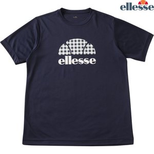 エレッセ Ellesse テニスウェア メンズ メンズ・ボーイズ ショートスリーブプラクティスハーフボールクルー EM08116-NG 2018SS|kpi