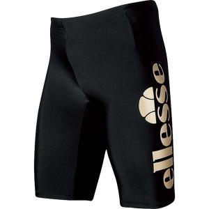 エレッセ Ellesse 水泳水着 メンズ  メンズ フィットネス用水着  メンズボックス4分丈 EN87190-KG|kpi