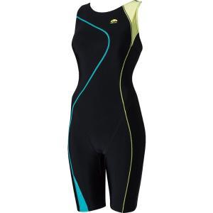 エレッセ Ellesse 水泳水着 レディース トレースウルトラストレッチオールインワン ES48105-KL|kpi