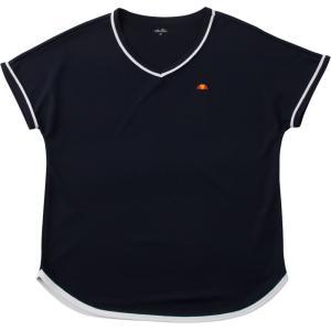 エレッセ Ellesse テニスウェア ゲームシャツ レディース EW07324 2017FW「2017新製品」|kpi