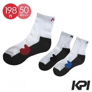 「50足セット」KPI ケイピーアイ 「Men's メンズショートソックス F13P10」テニスウェア KPIオリジナル商品『即日出荷』|kpi