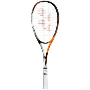 YONEX ヨネックス F-LASER 7S エフレーザー7S サイバーオレンジ 2019年新色 FLR7S-814 ソフトテニスラケット「カスタムフィット対応 オウンネーム可 」 kpi