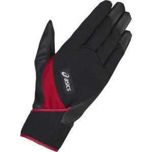 「2017新製品」アシックス asics パワーホールドグローブ ストレート GGG631-R90 レクリエーション手袋・グローブ|kpi
