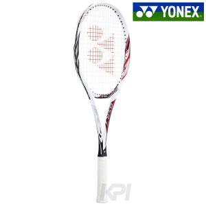 「新デザイン」YONEX ヨネックス 「ジーエスアール7 GSR7  ホワイト×レッド GSR7-114」ソフトテニスラケット「カスタムフィット対応 オウンネーム可 」 kpi