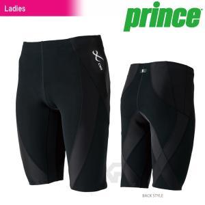 プリンス Prince テニスウェア バドミントンウェア レディース CW-X GENERATOR HALF ジェネレーターハーフ  HZY345|kpi