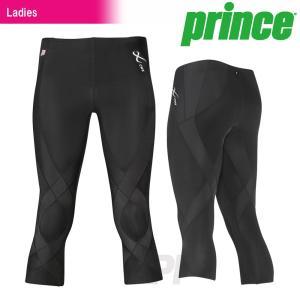 プリンス Prince テニスウェア バドミントンウェア レディース CW-X GENERATOR Series ジェネレーターセミロング|kpi