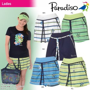 パラディーゾ PARADISO テニスウェア レディース ショートパンツ JCL01S 2018SS[ポスト投函便対応]|kpi