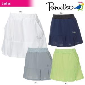 パラディーゾ PARADISO テニスウェア レディース スコート JCL03L 2018SS[ポスト投函便対応]|kpi