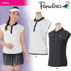 パラディーゾ PARADISO テニスウェア レディース 半袖ゲームシャツ JCL71A 2018SS[ポスト投函便対応]|kpi