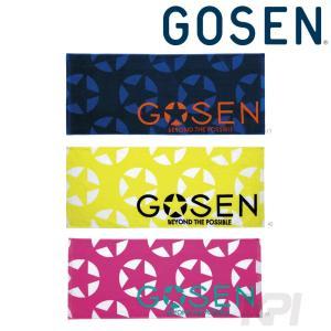 ゴーセン GOSEN テニスアクセサリー フェイスタオル K1602|kpi