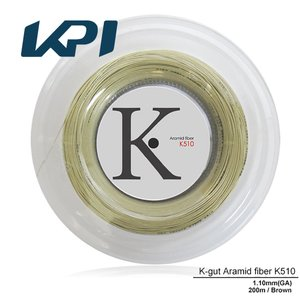 『即日出荷』 KPI ケイピーアイ 「K-gut Aramid fiber K510 200mロール」硬式テニスストリング ガット  KPIオリジナル商品|kpi