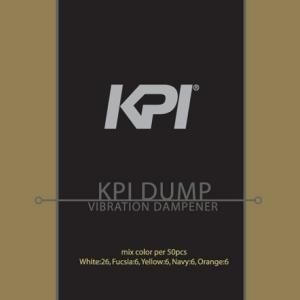 『即日出荷』 KPI ケイピーアイ 「KPI DUMP 振動止め クリアタイプ 50個入セット KAC103b」 KPIオリジナル商品|kpi