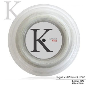 『即日出荷』 KPI ケイピーアイ 「K-gut Multifilament KB66 200mロール」バドミントンストリング ガット  KPIオリジナル商品