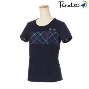 パラディーゾ PARADISO テニスウェア レディース 半袖シャツ KCL01A 2018FW[ポスト投函便対応]|kpi